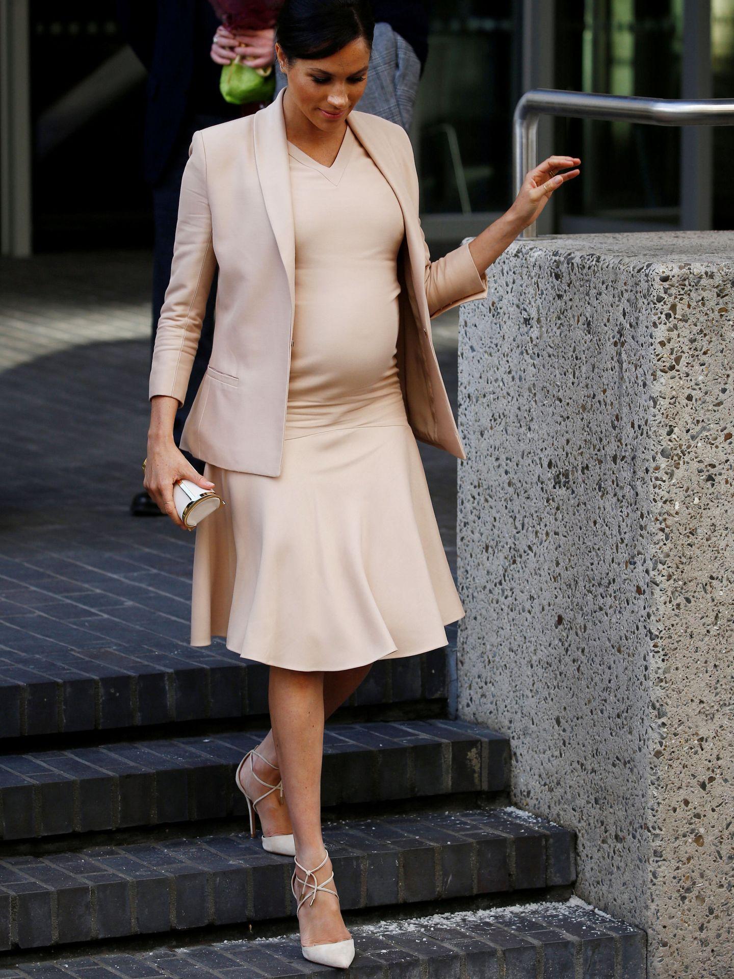 El look de Meghan Markle. (Reuters)