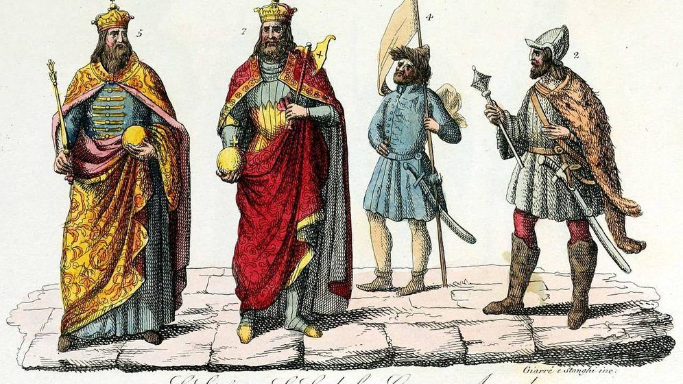 Foto: San Ladislao (segundo por la izquierda), junto a otros reyes de Hungría. (C.C.)