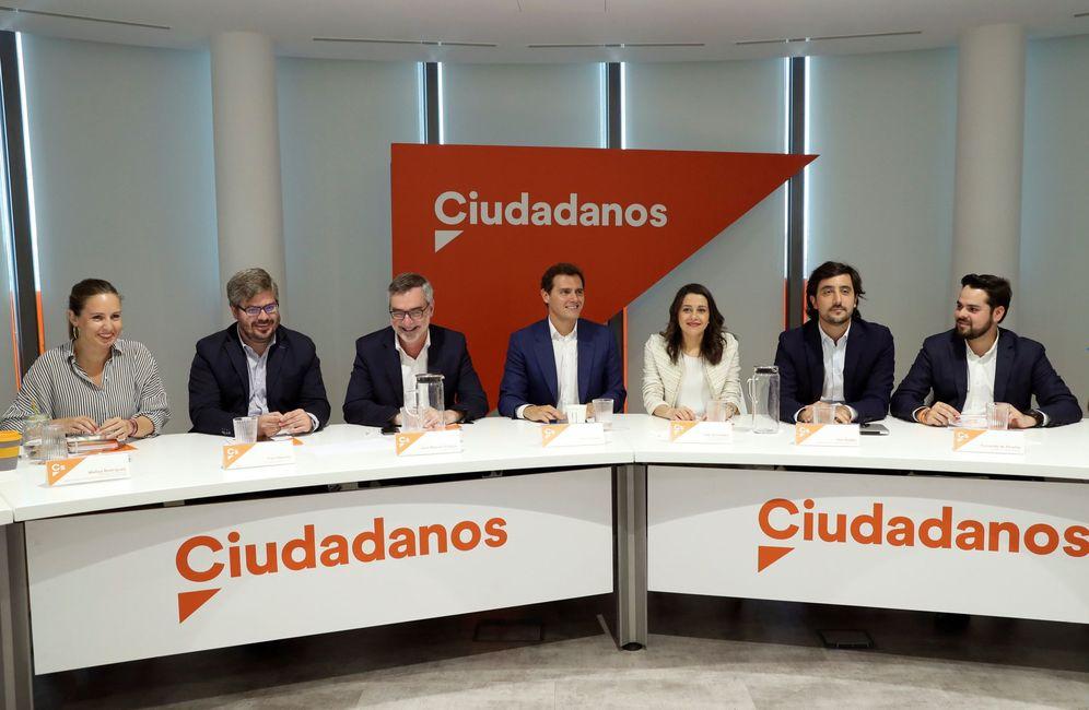 Foto: Reunión del Comité Ejecutivo de Ciudadanos en junio. (EFE)