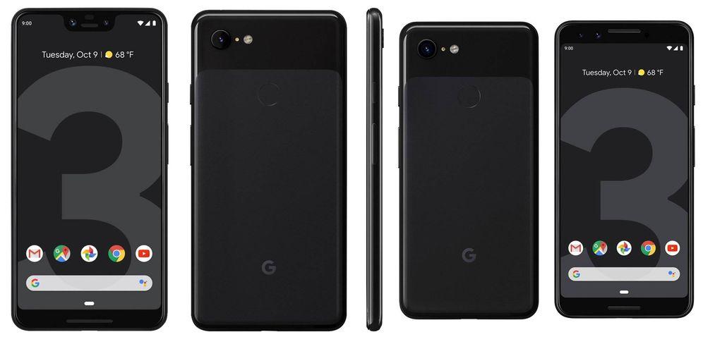 Foto: Así son los nuevos Pixel 3 XL y el Pixel 3. (Google)