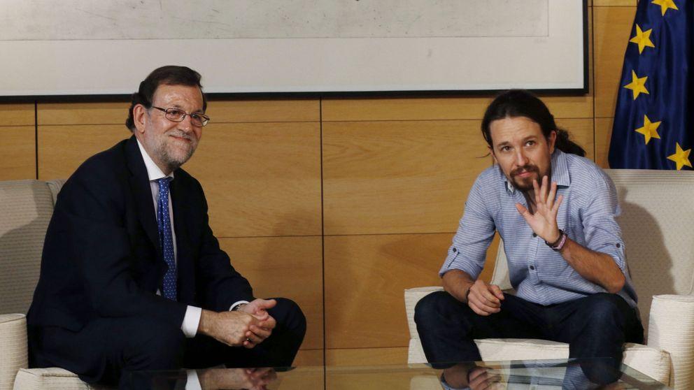 Iglesias reitera a Rajoy su no y deja la puerta abierta al PSOE