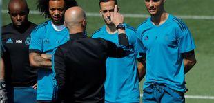 Post de La leña que exige Zidane a los jugadores para la final casi termina en lesiones