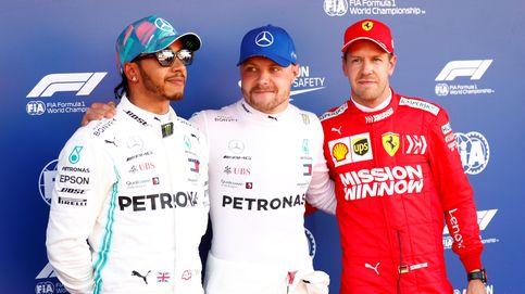 Fórmula 1: Pole estratosférica de Bottas, Mercedes hunde a Ferrari y Sainz saldrá 12º