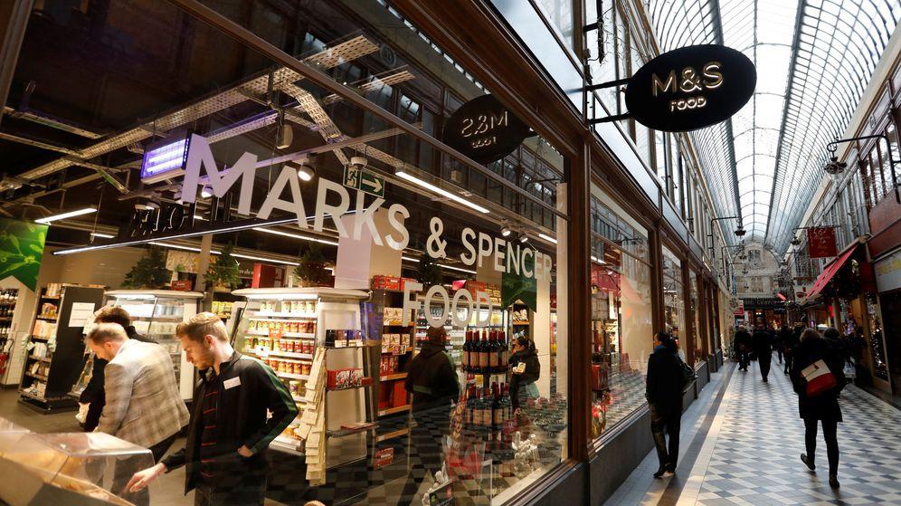 Foto: Tienda de Marks & Spencer (Reuters)