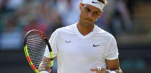 Post de Rafa Nadal arrasa a Yuichi Sugita en Wimbledon y no cae en la trampa