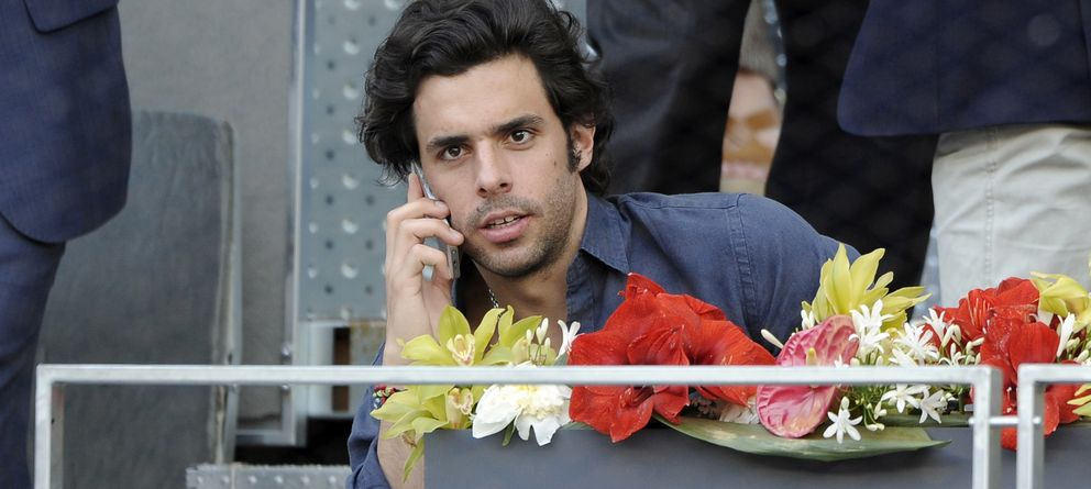 Foto: El empresario Alonso Aznar en una imagen de archivo en el Open de Madrid (Gtres)