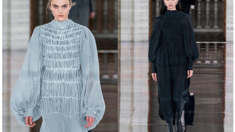 El nuevo vestido por Victoria Beckham.  (Imaxtree)