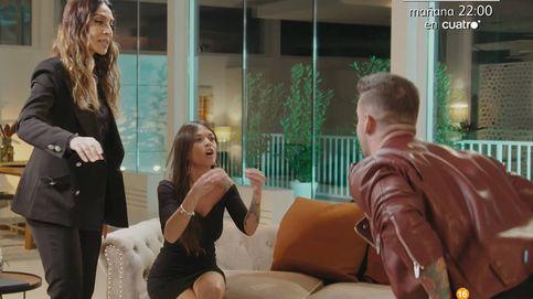 'La isla de las tentaciones': Mónica Naranjo tiene que separar a Álex y Fiama, a gritos