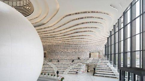 Esta gigantesca biblioteca China es una maravilla de la ingeniería