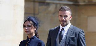 Post de Victoria Beckham vende una réplica low cost del vestido que llevó a la boda real