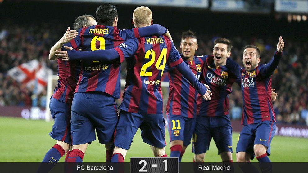 El Barça gana al mejor Madrid de 2015 y da un golpe donde más duele