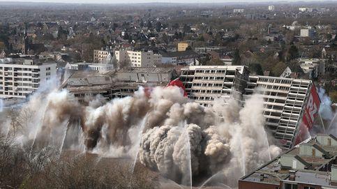 El Holi llega a Europa y una impresionante demolición: el día en fotos