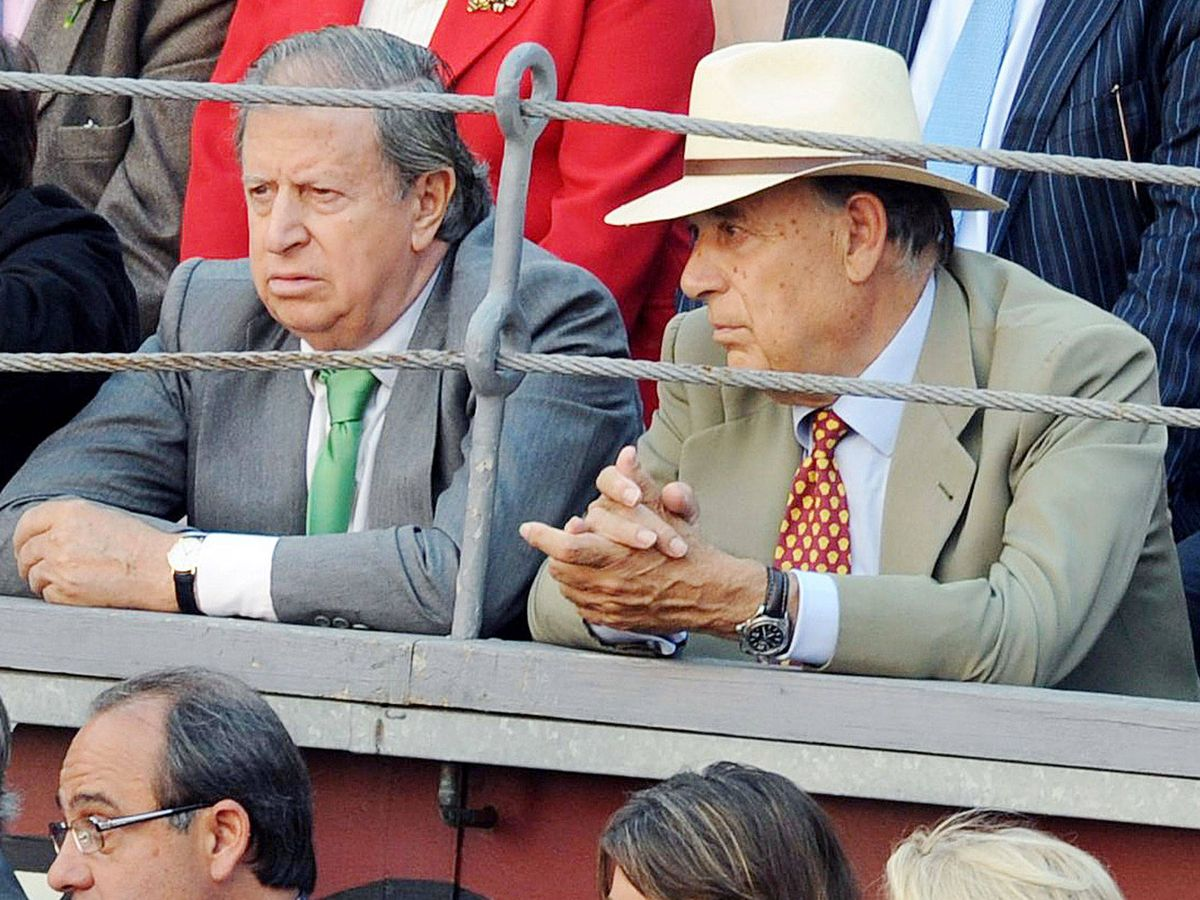 Foto: Fernando y Carlos Falcó. (Getty)