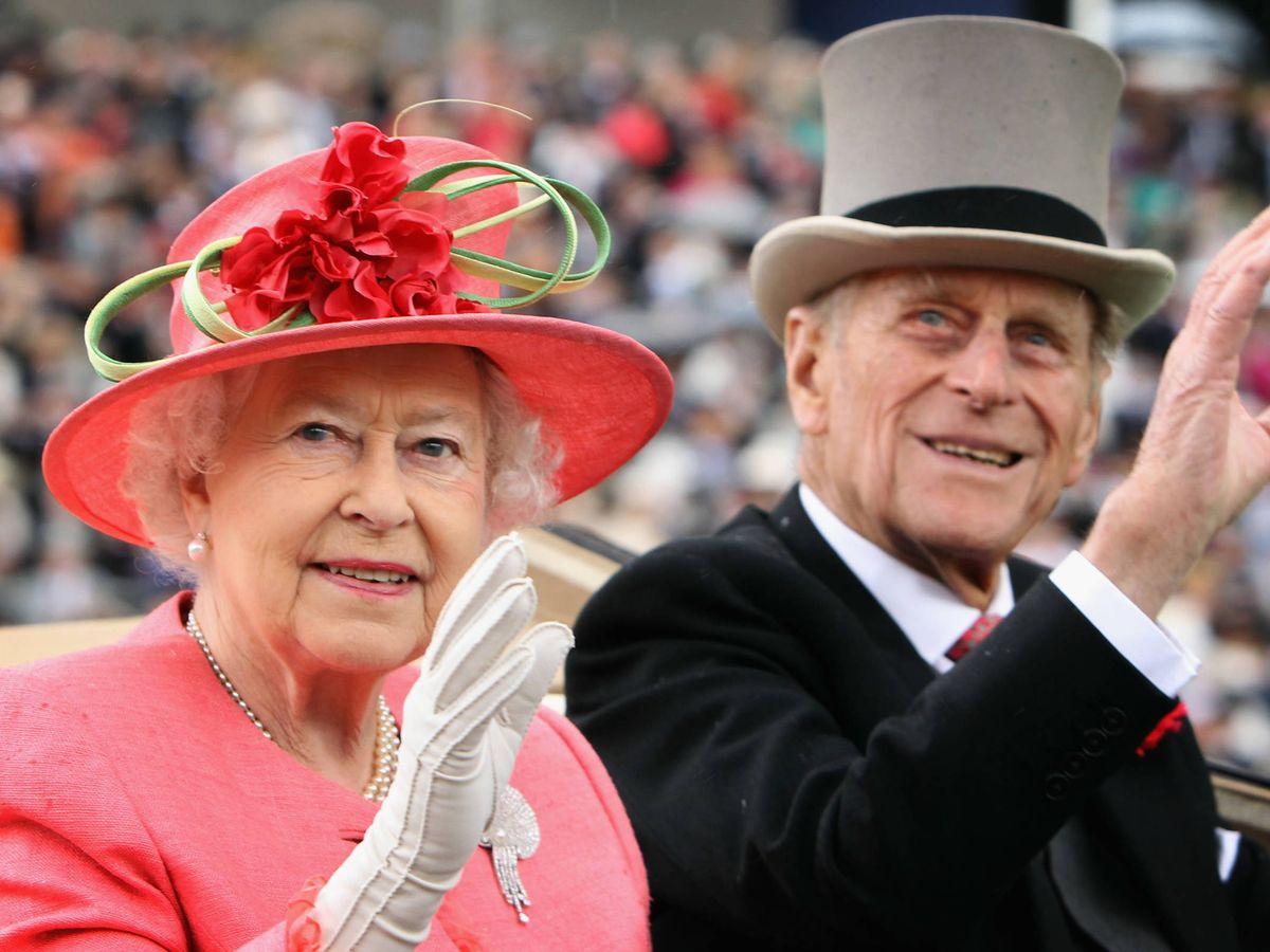 Foto:  Isabel II y el duque de Edimburgo, en una imagen de archivo. (Getty)
