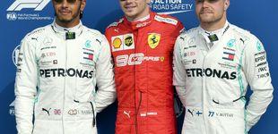 Post de Fórmula 1: pole de Leclerc en la clasificación más extraña con Carlos Sainz 7º