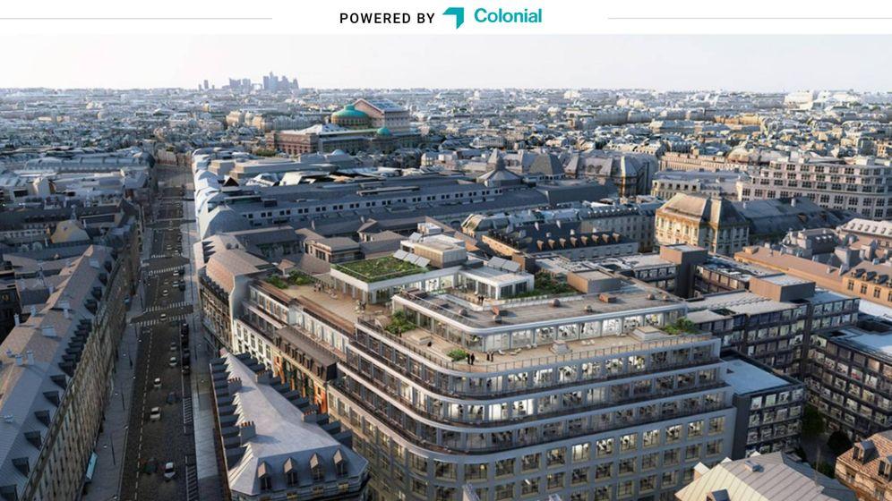 Foto: Edificio #Cloud-Paris de Colonial, poseedor de la certificación medioambiental Breeam y sede de Facebook en París. (Colonial)