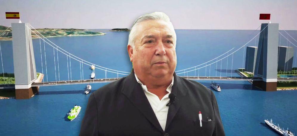 Foto: Juan Valle, constructor e ideólogo de la presa-puente de Gibraltar. (EC)
