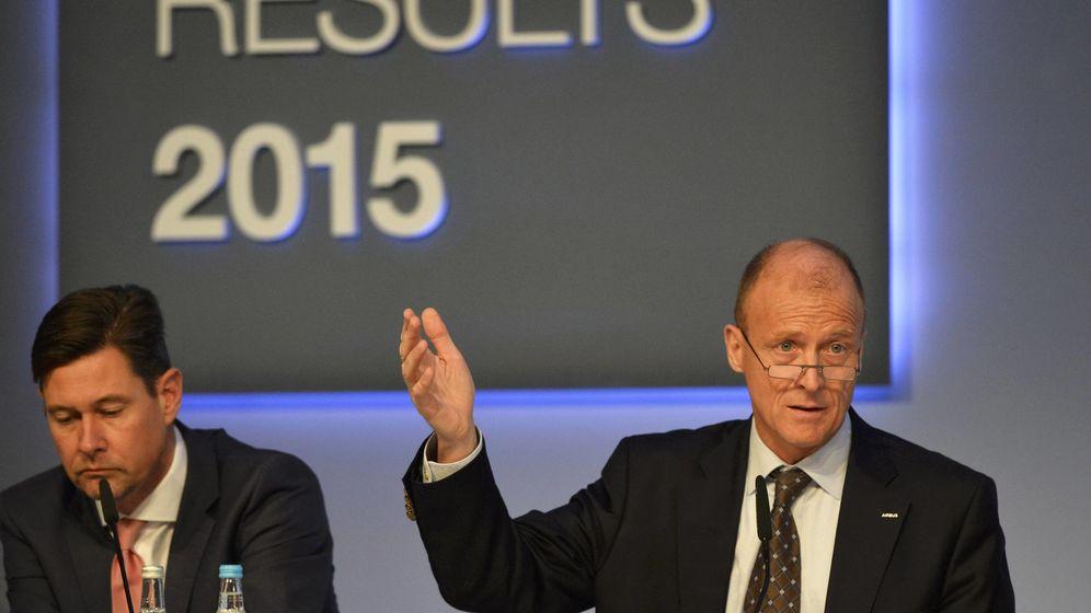 Foto: El consejero delegado de Airbus, Tom Enders (Reuters)