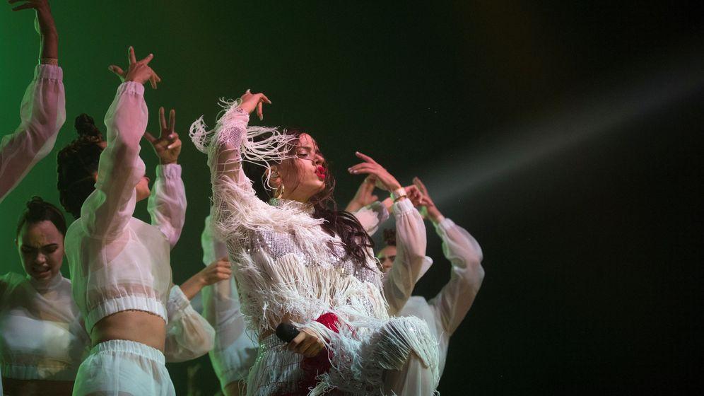 Foto: Rosalía ha comenzado una proyección internacional gracias al éxito de sus nuevos trabajos. (EFE)