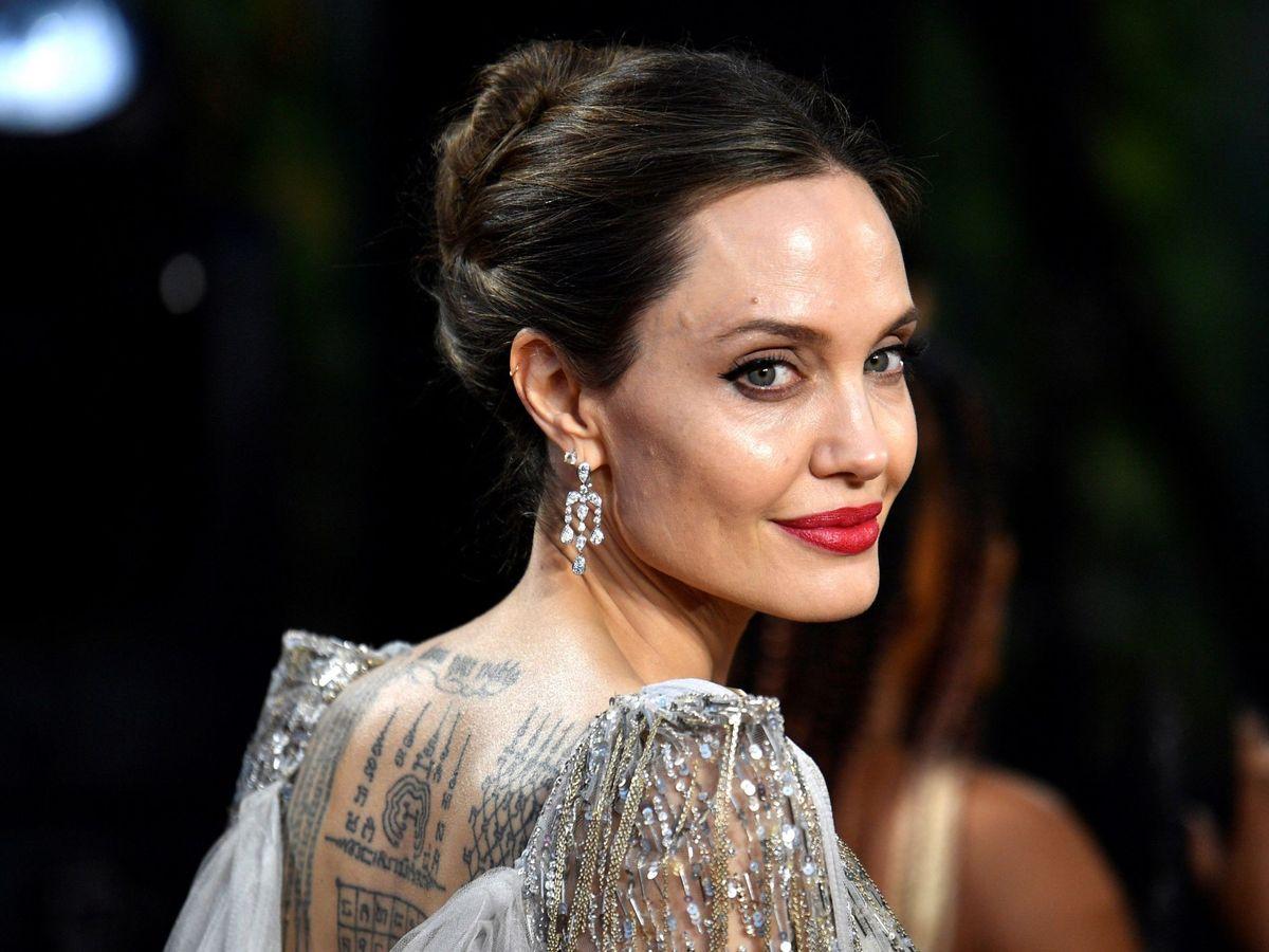 Foto: Angelina Jolie, en el estreno de 'Maléfica'. (EFE)