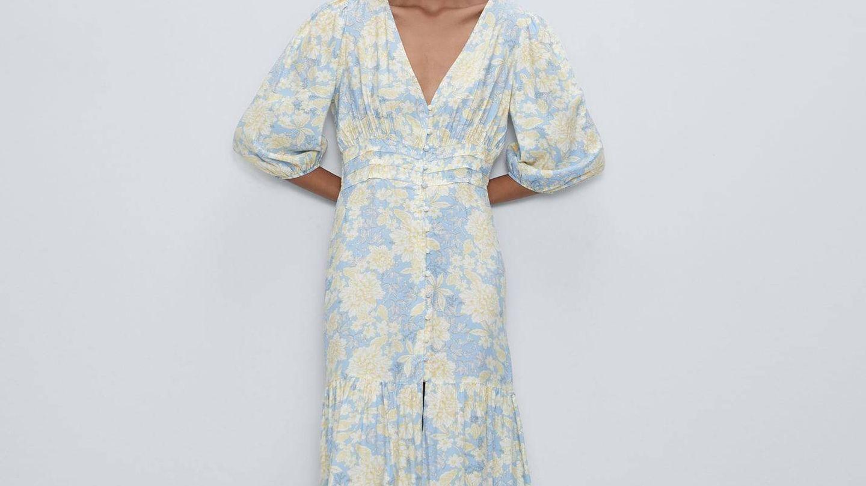 Vestido de Zara de Marta Lozano. (Cortesía)