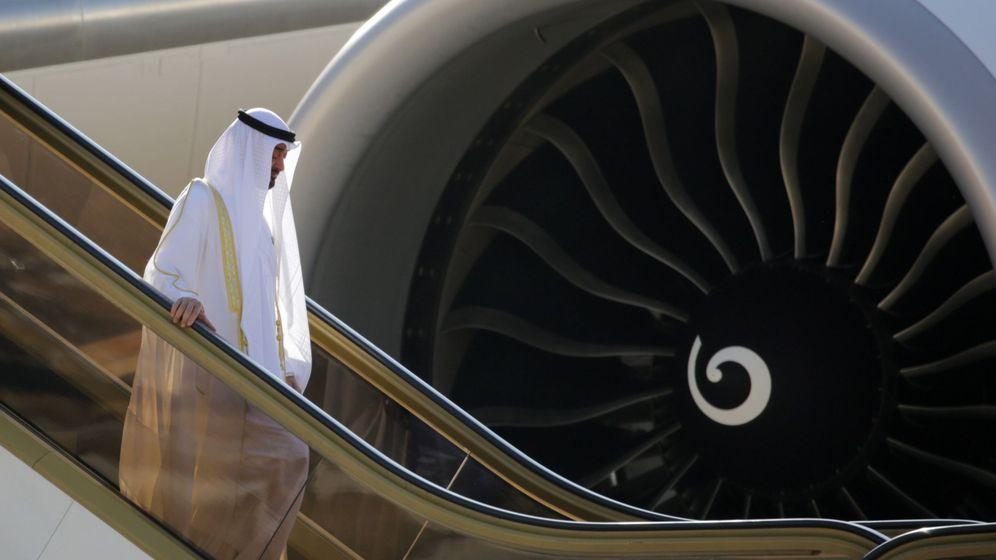 Foto: El príncipe heredero de Abu Dabi, Mohamed bin Zayed Al Nahyan. (EFE)