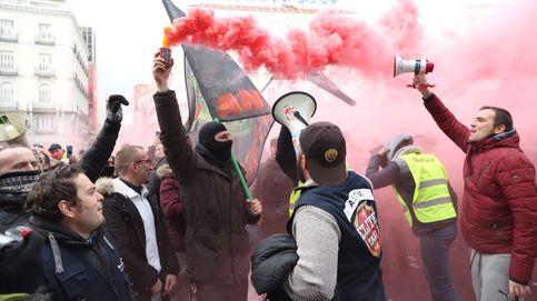 Taxistas preparan una gran manifestación en defensa del servicio público