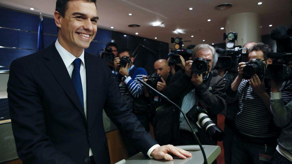 Sánchez libra con el PSOE su asalto para ser presidente con C's y Podemos