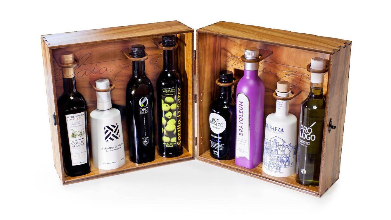 Foto: Ocho aceites seleccionados y empaquetados con primor