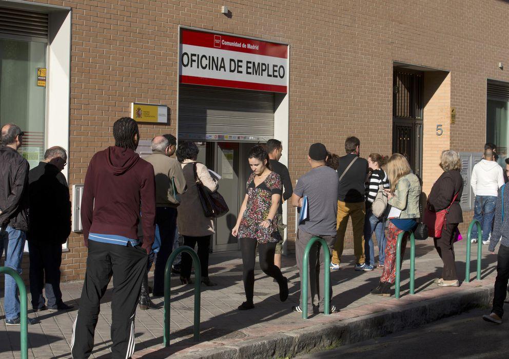 Foto: Oficina del INEM en Madrid. (Gtres)