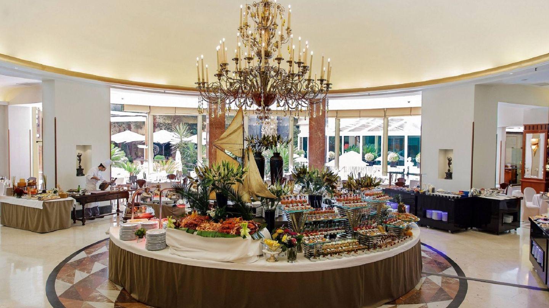 El brunch del hotel Intercontinental de Madrid en todo su esplendor. (Foto: Cortesía)
