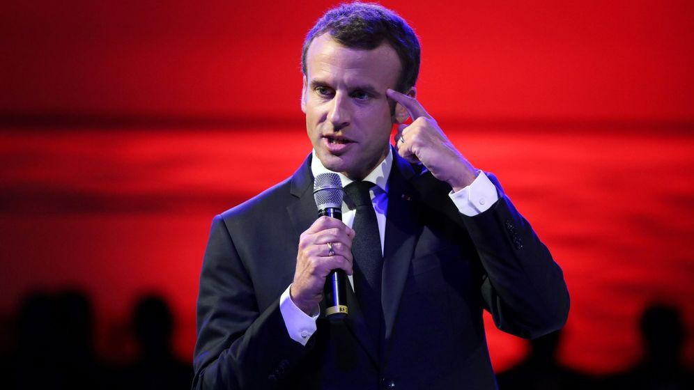 Foto: El presidente francés, Emmanuel Macron. (EFE)