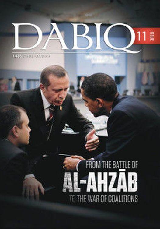 La revista Dabiq, la publicación oficial del Estado Islámico