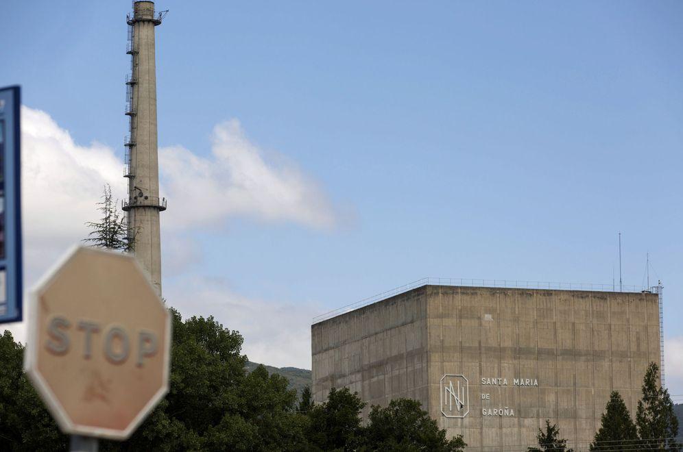 Foto: Vista del reactor de la central nuclear de Santa María de Garoña (David Aguilar / EFE)