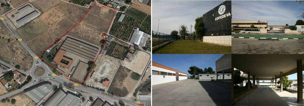 Foto: Imágenes de la parcela industrial adquirida por Hermanos Musulmanes. (Mil Anuncios)