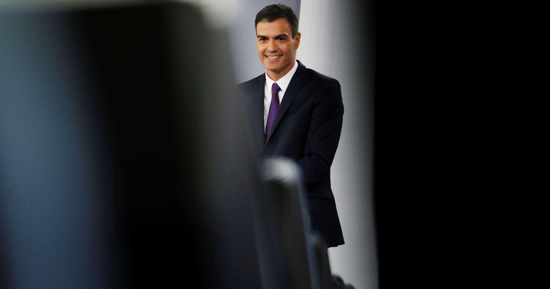 Foto: Pedro Sánchez hace balance de sus primeros dos meses de mandato, este 3 de agosto en La Moncloa. (Reuters)