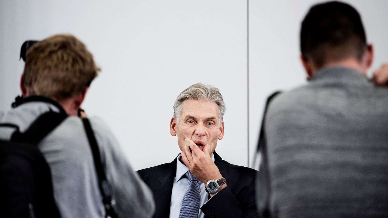 Foto: El ex primer ejecutivo de Danske Bank, Thomas F. Borgen. (EFE)