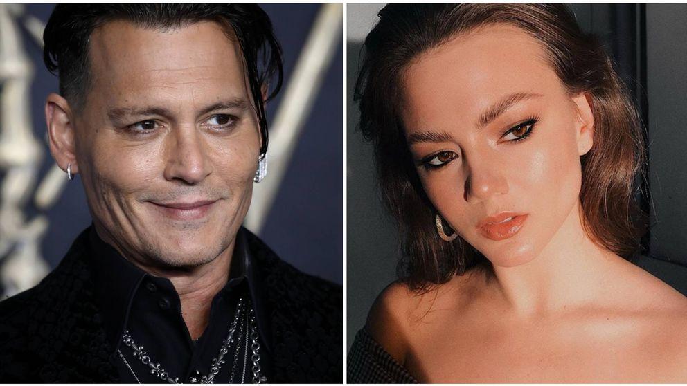 Tras el escándalo por maltrato, esta es la nueva novia veinteañera de Johnny Depp