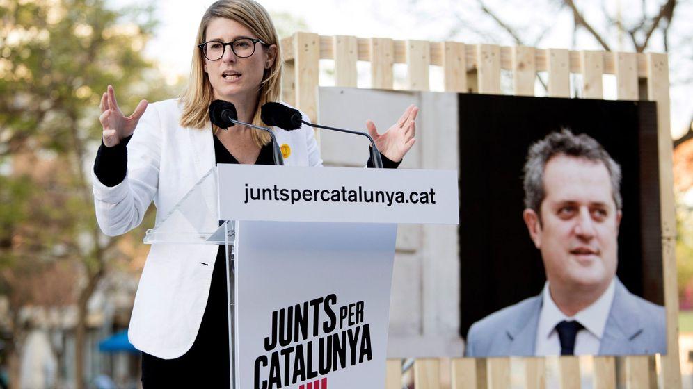 Foto: La número dos de JxCat al Ayuntamiento de Barcelona, Elsa Artadi (Efe)