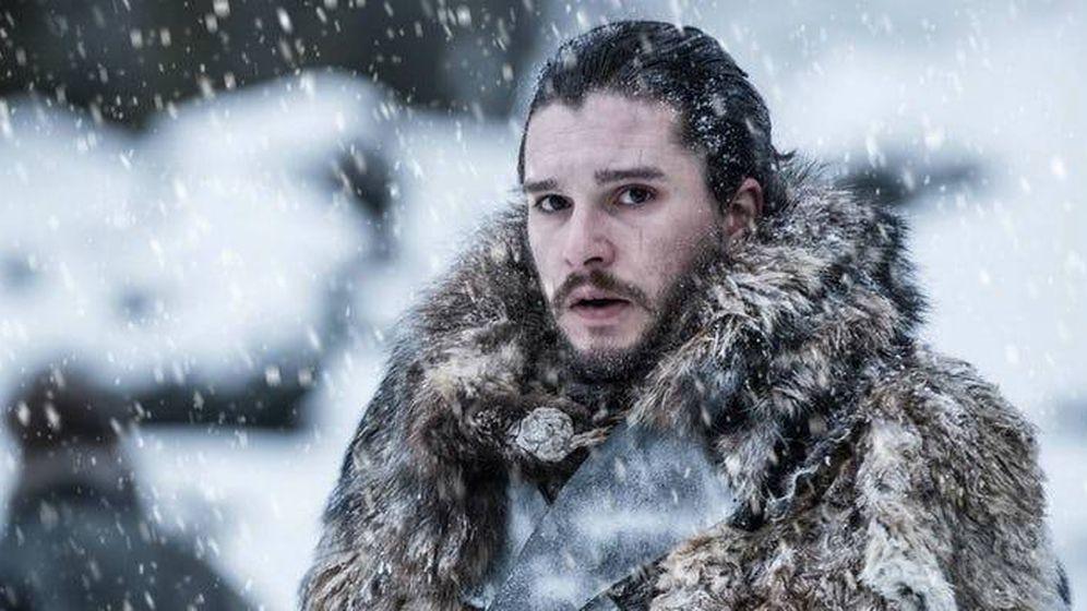 Foto: Kit Harington en 'Juego de tronos'. (HBO)