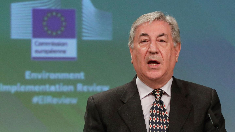 Karmenu Vella, comisario de Medio Ambiente. (EFE)
