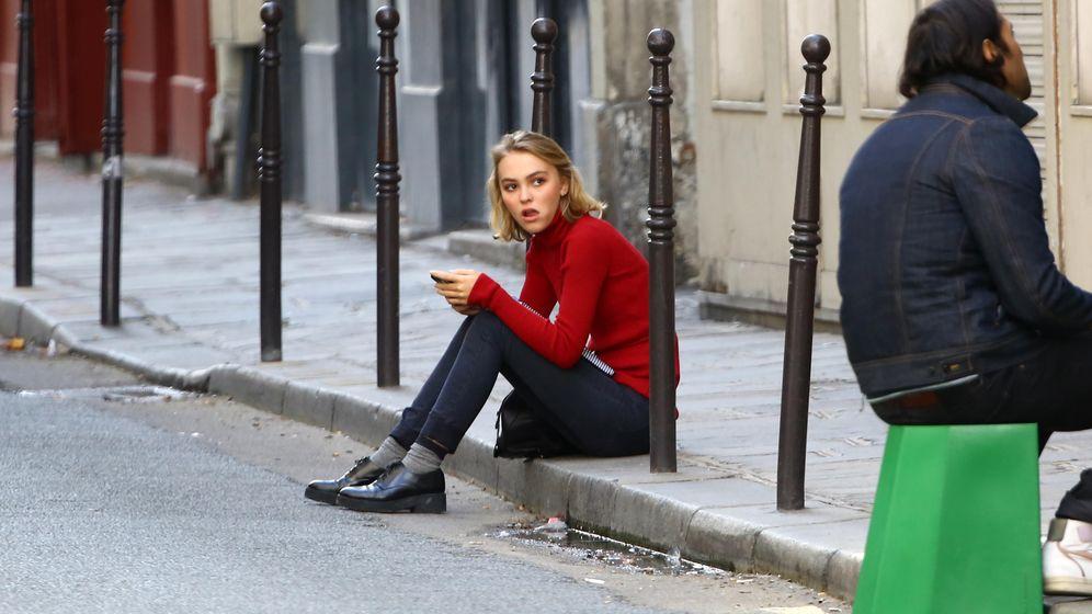 Foto: Lily-Rose Depp el pasado mes de septiembre en París (Gtres)