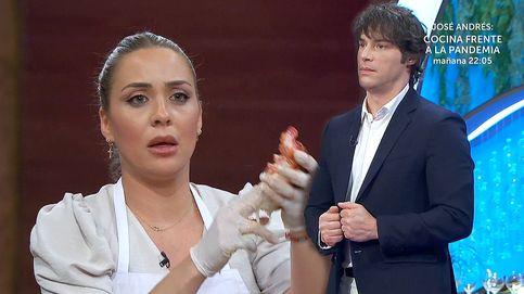 Jordi Cruz abronca a Luna en plena final de 'Masterchef': ¡Te quito de la cocina!