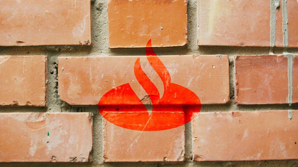 Foto: Logo del Banco Santander
