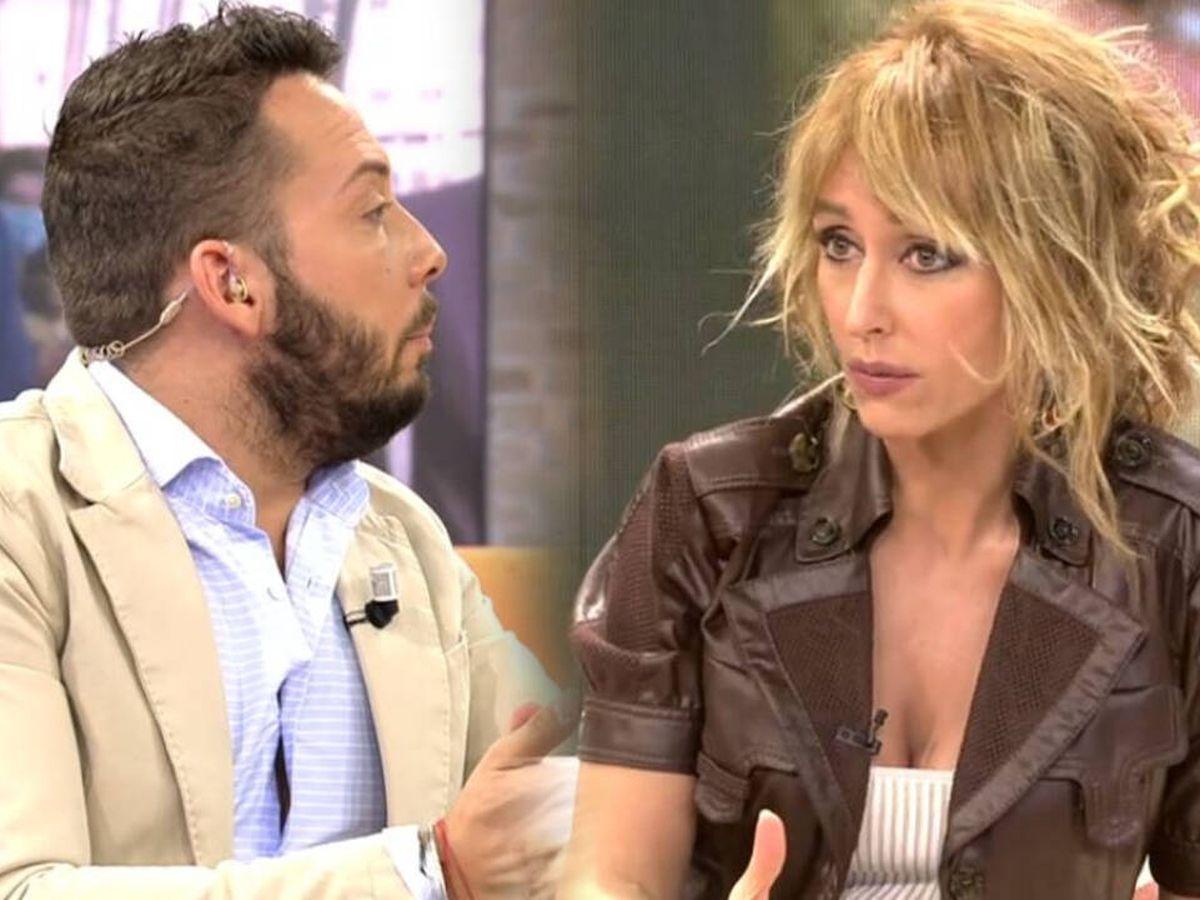 Foto: José Antonio Avilés y Emma García, en 'Viva la vida'. (Mediaset España)