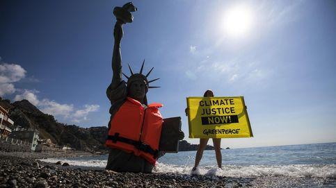 La Estatua de la Libertad y el cambio climático