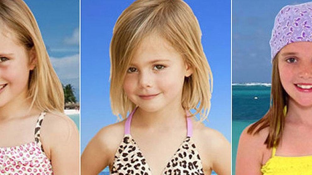 Los bikinis para niñas de Elizabeth Hurley, 'censurados' por inapropiados