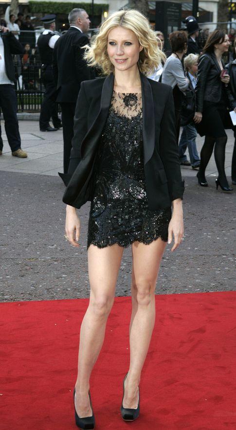 Gwyneth Paltrow con los aclamados McQueen
