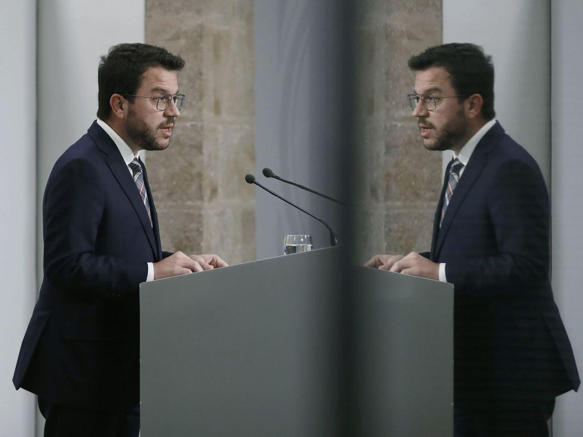 Foto: El presidente de la Generalitat de Cataluña, Pere Aragonès. (EFE)