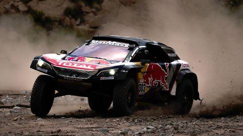 El agónico final de Sainz, con la caja de cambios rota, para seguir líder del Dakar